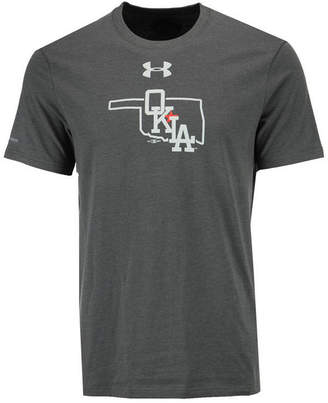 Under Armour Men's Oklahoma City Dodgers Logo Charged Cotton T-Shirt