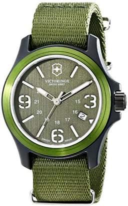 Victorinox Unisex 241514 Original Resin Watch With Nylon Band