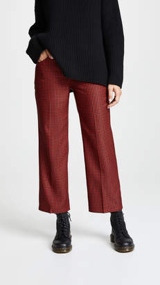 Marc Jacobs Houndstooth Twill Cropped Pants