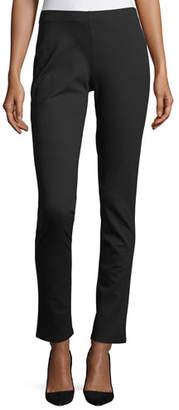 Eileen Fisher Plus Size Slim Ponte Pants