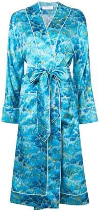 Marina Moscone belted robe coat