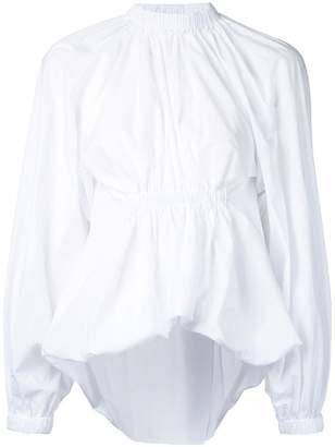 Ellery gathered waist blouse
