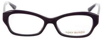 Tory Burch Round Resin Eyeglasses