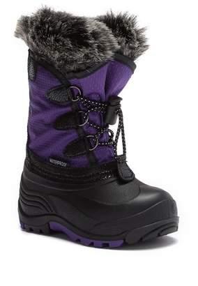 Kamik Powdery Faux Fur Trimmed Waterproof Winter Boot (Toddler & Little Kid)
