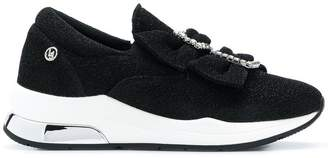 Liu Jo bow buckle sneakers