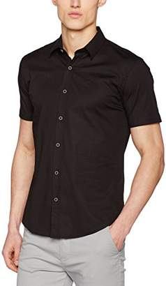 Cross Men's 35086 Casual Shirt, (Black)