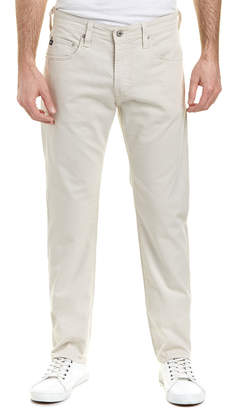 AG Jeans The Matchbox Bleached Sand Slim Straight Leg