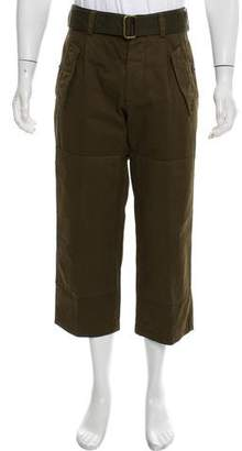 Dries Van Noten Cropped Utility Pants