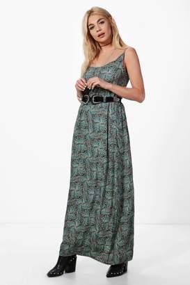 boohoo Paisley Print Maxi Dress