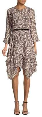 Shoshanna Koko Silk Dress
