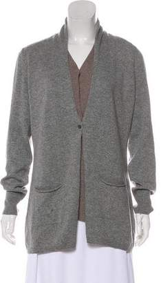 Fabiana Filippi Wool Long Sleeve Cardigan
