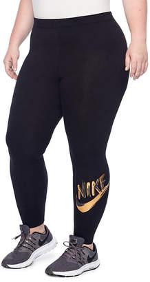 Nike Metallic Leggings - Plus