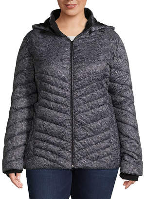 Xersion Lightweight Puffer Jacket-Plus