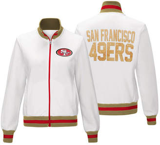 G-iii Sports Women's San Francisco 49ers Field Goal Track Jacket