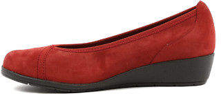New Supersoft Flexwedge Dark Red Womens Shoes Comfort Shoes Heeled