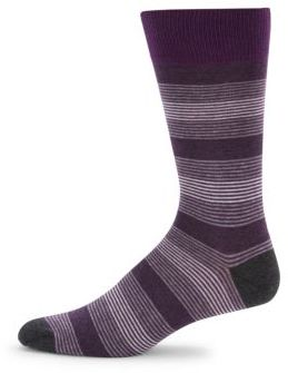 Striped Mid Calf Socks $20 thestylecure.com