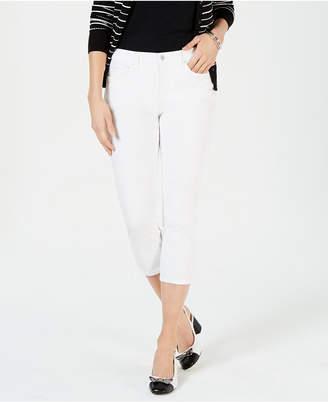 Charter Club Tummy-Control Capri Jeans