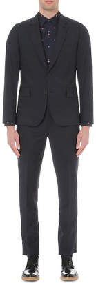 Paul Smith Mens Navy Contrast Suit