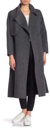 Vince Waist Belt Cozy Coat