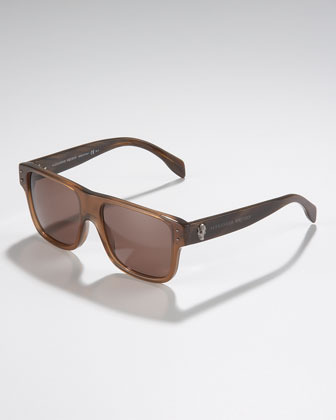 Alexander McQueen Square Skull Sunglasses