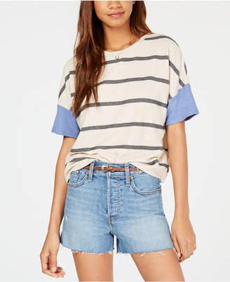 Self Esteem Juniors' Contrast-Sleeve T-Shirt