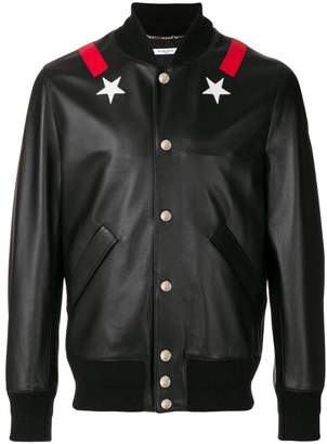 Givenchy star bomber jacket