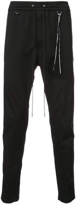 Mastermind Japan (マスターマインド) - Mastermind Japan elasticated waist slim fit trousers