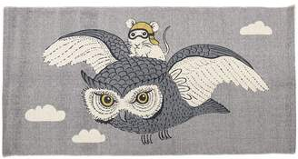 Harriet Bee Kevon Cotton Gray Area Rug