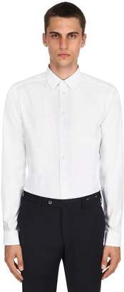 Eton Cotton Twill Stretch Shirt