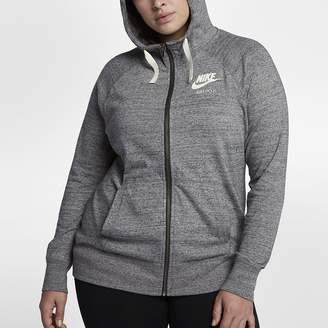 Nike Sportswear Gym Vintage (Plus Size) Women's Full-Zip Hoodie