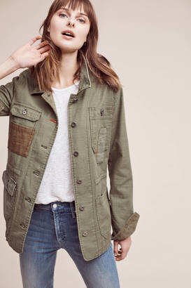 Hei Hei Patched Utility Jacket $158 thestylecure.com