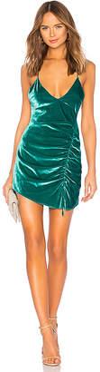 For Love & Lemons Viva Velvet Mini Dress