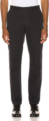 Maison Margiela Chino Pants in Black | FWRD