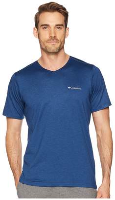 Columbia Tech Trail V-Neck Shirt Men's Clothing