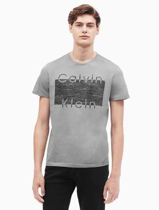Calvin Klein regular fit crewneck graphic t-shirt