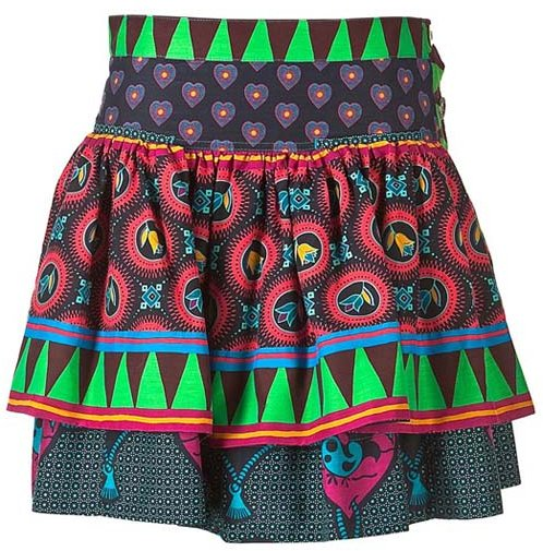 Marc by Marc Jacobs Multicolour Patchwork Skirt