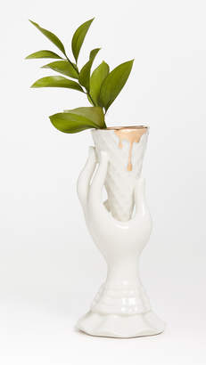 Jonathan Adler Gilded I-Scream Vase