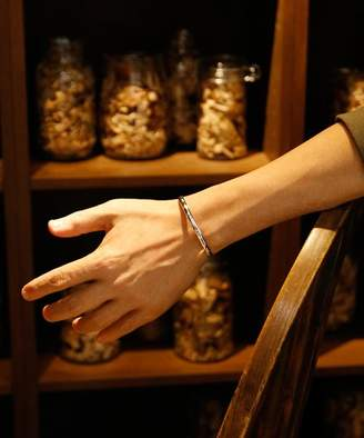 Ability NORTH WORKS 900silver round bangle W‐221