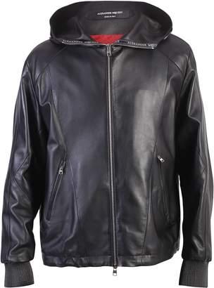 Alexander McQueen Black Zipped Jacket