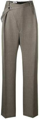 Jil Sander loose-fit tailored trousers