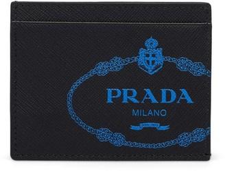 Prada saffiano credit card holder