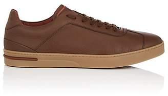 Loro Piana Men's 70's Walk Leather Sneakers