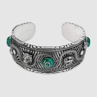 Gucci Garden bracelet in silver