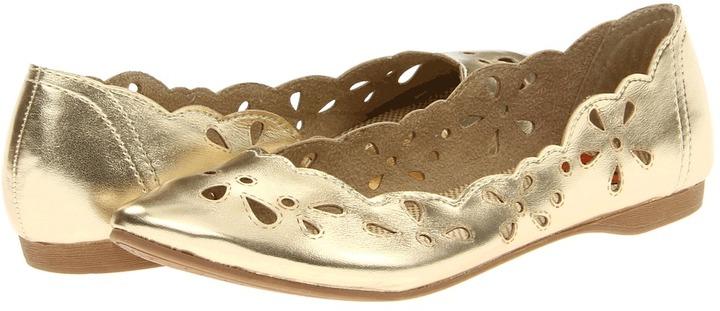 Rocket Dog Carey (Gold Metallic Little Gem) - Footwear