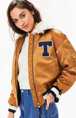 Tommy Jeans Satin Coach Jacket