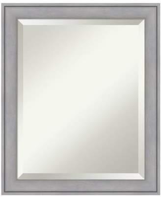 Amanti Art Graywash Bathroom Mirror