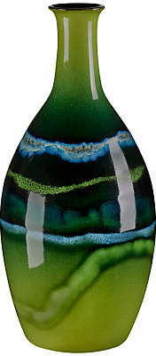 Poole Pottery Poole Maya Tall Bottle Vase, H26cm