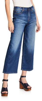 Notify Jeans Silene High-Rise Cropped Wide-Leg Jeans
