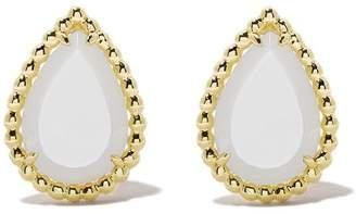 Boucheron 18kt yellow gold Serpent Bohème mother-of-pearl teardrop stud earrings