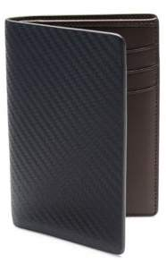 Dunhill Chassis Small Vertical Leather Bifold Wallet